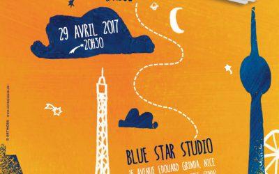 Antoine Villoutreix & Band im Blue Star Studio in Nizza