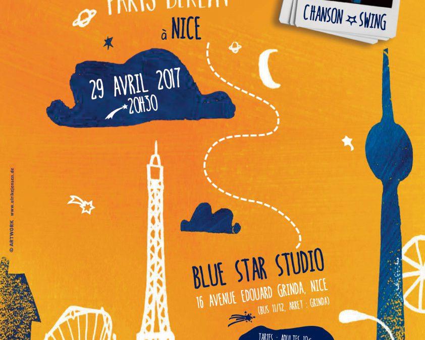 Antoine Villoutreix & Band au Blue Star Studio à Nice